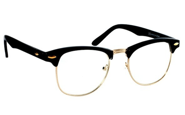 Clubmaster Browline Glasses